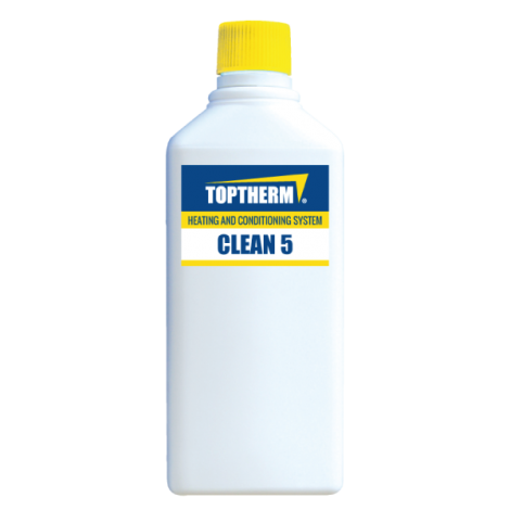CLEAN 5 (4 szt.) - czyszczenie używanych instalacji grzewczych