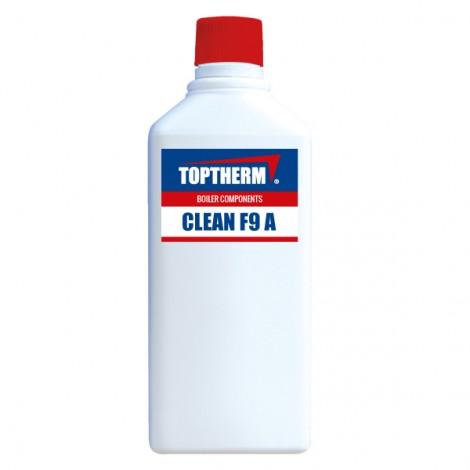 CLEAN F9 A (4 szt.) - czyszczenie komory spalania wymiennika aluminiowego kotła + 1 spryskiwacz GRATIS!