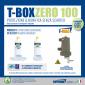 T-BOX ZERO 100, zestaw bez wymiany wody w instalacji (dom 80-100m2, filtr 10 000 gauss)